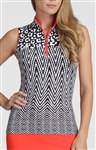 Tail Cindy Sleeveless Mock - Serengeti
