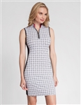 Tail Cecily Sleeveless Golf Dress - Tile Weave