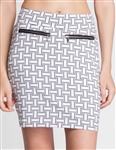 Tail September Golf Skort - Tile Weaves