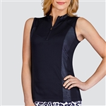 Tail Alani Sleeveless Mock - Black