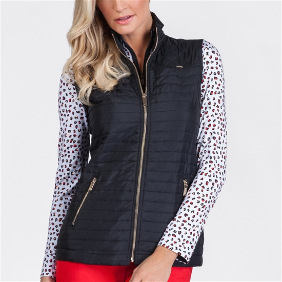 Tail Lee Black Quilted Vest