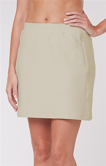 Tail Elevation Textured Golf Skort - Chino