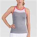 Tail Tippi  Frosted Heather/Paprika Tennis Tank