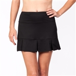 Tail Doral Black Tennis Skort