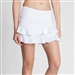 Tail Doubles Ruffle Tennis Skort - White