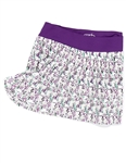 Garb Jan Girls Golf Skort - Water Colors