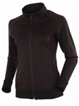AUR Women's Thermal Full Zip Jacket Black