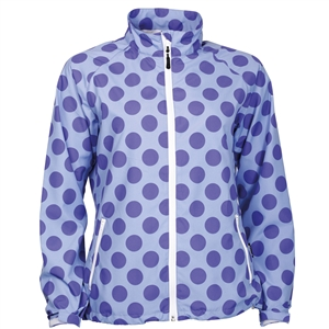 Abacus Golf Women's Glade Wind Jacket Blue Iris