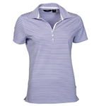 Abacus Golf Women's Maria Golf Polo Blue Iris