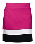 Abacus Golf Women's Elm Golf Skort Lipstick