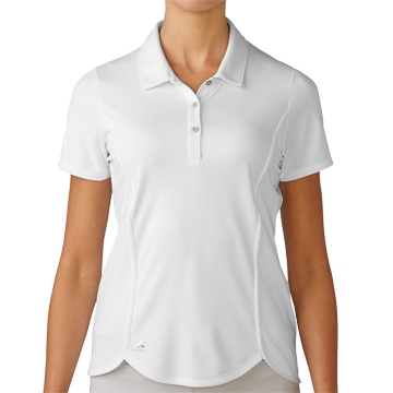 Adidas Essentials Climachill Golf Polo - White