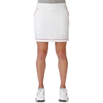 Adidas Tour Venting Golf Skort - White/Raspberry Rose