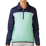Adidas Golf Packable 1/4 Zip Wind Tech Pullover - Deep Blue