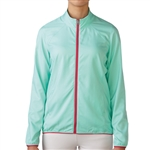 Adidas Essentials Full Zip Wind Jacket - Mint Burst/Raspberry Rose