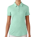 Adidas Essentials Heather Short Sleeve Polo - Mint Burst