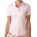 Adidas Essentials 3-Stripes Short Sleeve Polo Blushing Pink