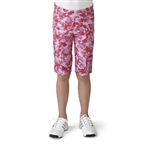 Adidas Girls adiStar Bermuda Golf Short - Wild Orchid