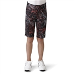 Adidas Girls adiStar Bermuda Golf Short - Black