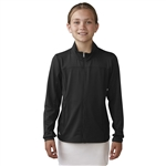 Adidas Girls Advance Rangewear Golf Jacket - Black
