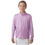 Adidas Girls Advance Rangewear Golf Jacket - Wild Orchid