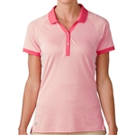 Adidas Golf Essentials Pique Polo - Raspberry Rose