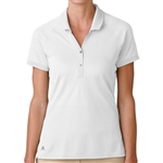 Adidas Golf Essentials Pique Polo - White