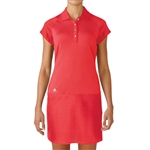Adidas Golf Adistar Rangewear Golf Dress - Shock Red