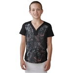 Adidas Girls Essential Mesh Polo - Black
