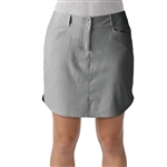 Adidas Essentials 3-Stripe Golf Skort Charcoal Grey