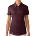 Adidas Puremotion Short Sleeve Polo - Maroon