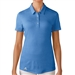Adidas Puremotion Short Sleeve Polo - Lucky Blue