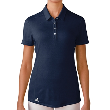Adidas Puremotion Short Sleeve Polo - Navy