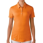 Adidas Puremotion Short Sleeve Polo - Bright Orange
