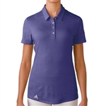 Adidas Puremotion Short Sleeve Polo - Purple