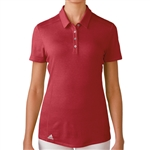Adidas Puremotion Short Sleeve Polo - Power Red