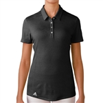 Adidas Puremotion Short Sleeve Polo - Black