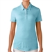 Adidas Puremotion Short Sleeve Polo - Frost Blue