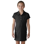 Adidas Girls Adistar Rangewear Golf Dress - Black