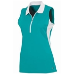 AUR Ladies Crossfield Sleeveless Golf Polo