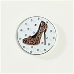 Abigale Lynn Cheetah High Heel Ball Marker with Hat Clip