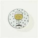 Abigale Lynn Wine Glass Ball Marker with Hat Clip