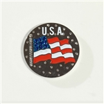 Abigale Lynn USA Ball Marker with Hat Clip