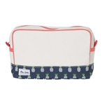 Ame & Lulu Natural Beauty Cosmetic Bag - Pineapple