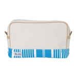 Ame & Lulu Natural Beauty Cosmetic Bag - Ticking Stripe