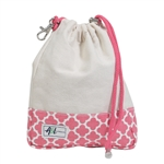 A&L Golf Ditty Bag - Clover Natural