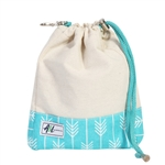 A&L Golf Ditty Bag - Lagoon Natural