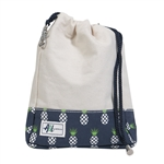 A&L Golf Ditty Bag - Pineapple Natural
