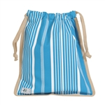 Ame & Lulu Drawstring Shoe Bags - Ticking Stripe