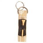 Ame & Lulu Key Chain wtih Tee Holder