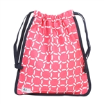 A&L Golf Drawstring Shoe Bag - Pink